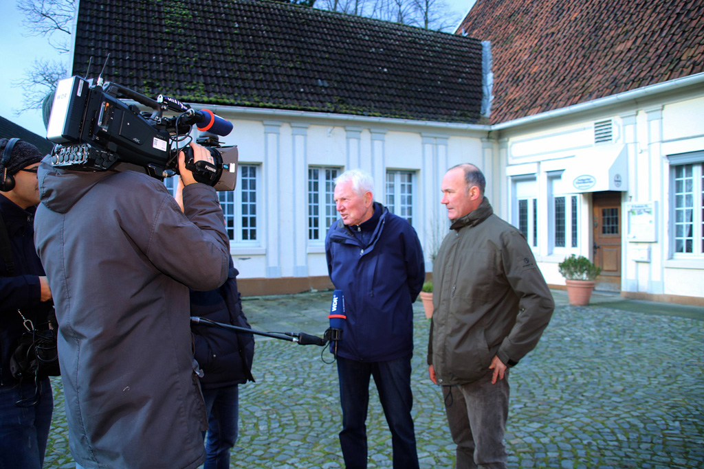 WDR Drehtermin im Landgasthaus - Kulturgut Samson
